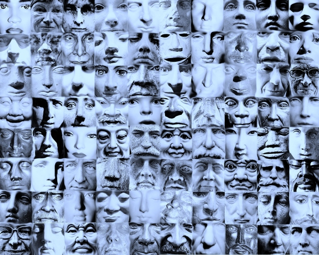 Eighty faces