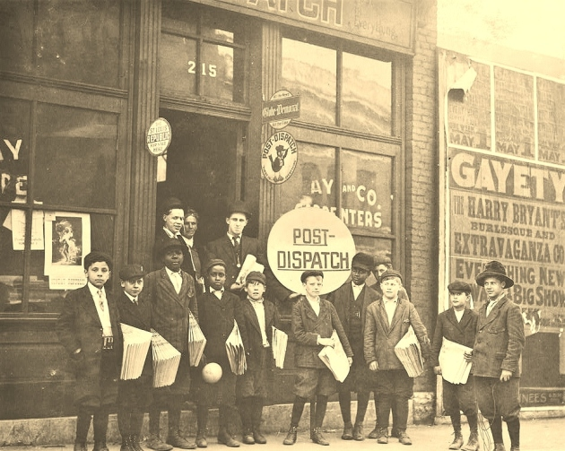 Burley's Branch Office, 23rd St. near Olive. Wednesday May 4th, 1910. 330 P.M. Location St. Louis, Missouri.