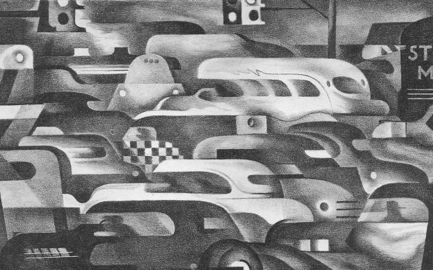 Traffic Control by Benton Spruance