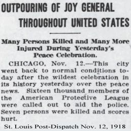 11-12-1918 chicago peace celebration