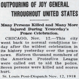11-12-1918 chicago peace celebration