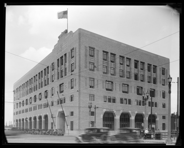 globe-democrat building 1930s
